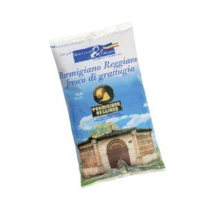 Freshly grated Parmigiano Reggiano PDO