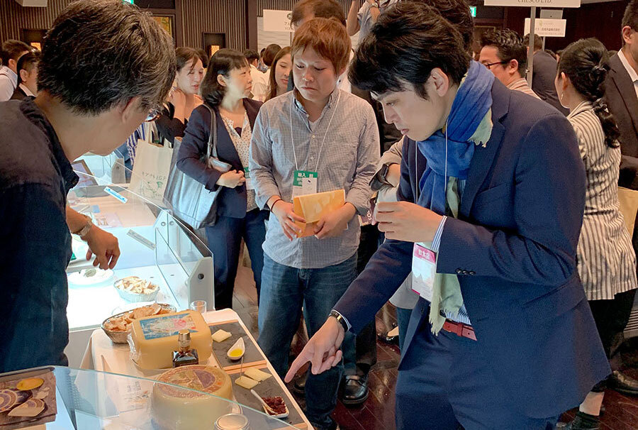 Cheese Event in Tokyo